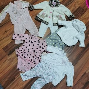 Other - 4 Outfit Baby girl Bundle